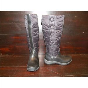 New Womens UGG Lonnie Black Tall Snow Winter Boots